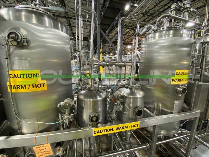 Used Microblend Blending System full