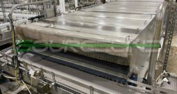 Used 7′ x 22′ Stainless Steel Bottle Warming Tunnel