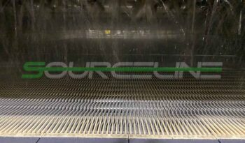 Used 7′ x 22′ Stainless Steel Bottle Warming Tunnel full